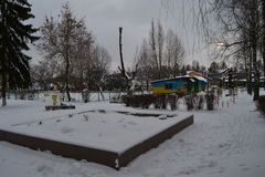 придено имеет зиму Стоковое фото RF