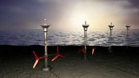 Приливная энергия моря, концепция