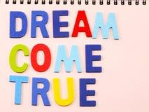 придите мечт true Стоковые Фото