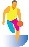 приложения Передний баскетбол бесплатная иллюстрация