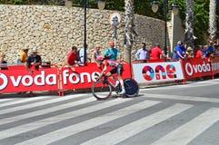 Проба времени Vuelta Espana Ла Soudal Lotto стоковая фотография rf