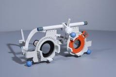 проба optometrist s рамки Стоковая Фотография