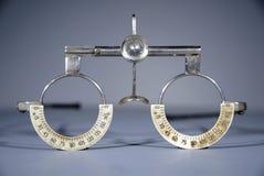 проба optometrist s рамки Стоковая Фотография RF