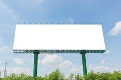 пробел афиши на дороге в городе для рекламировать предпосылку Стоковые Изображения