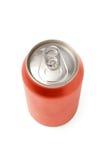 пробел может красная сода Стоковые Фотографии RF