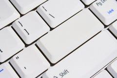 пробел экстренныйый выпуск клавиатуры входного ключа Стоковые Фотографии RF