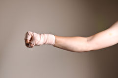 пробивать боксера Стоковое Изображение