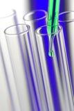 пробирки науки исследования лаборатории Стоковое Изображение