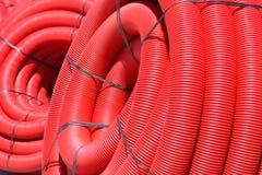 пробка красного цвета катушки Стоковые Фото