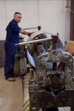 пробка металла изготовления Стоковые Изображения RF