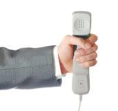 пробка телефона руки Стоковые Фотографии RF