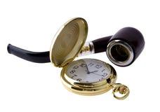 пробка часов карманная куря Стоковые Фотографии RF