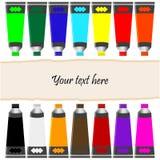 пробки краски масла знамени Стоковые Фотографии RF