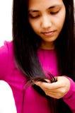 проблема волос Стоковые Фотографии RF