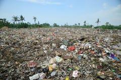 проблема загрязнения отброса Стоковые Фото