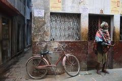 проблема Индии попрошайки стоковая фотография rf
