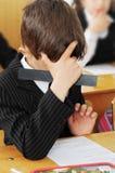 проблема ребенка разрешает Стоковое фото RF