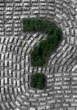 проблема eco автомобиля Стоковая Фотография