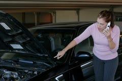 проблемы автомобиля Стоковое фото RF