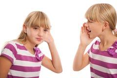 Проблемы слуха Стоковое Изображение