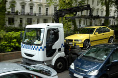 проблемы стоянкы автомобилей Стоковое Фото