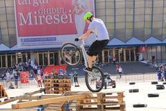Пробный велосипедист Стоковые Изображения RF
