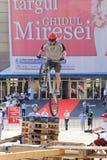 Пробный велосипедист Стоковая Фотография