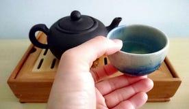 Пробовать китайский чай Стоковые Изображения