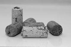 6 пробочек вина Стоковые Изображения