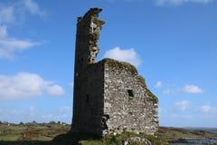 Пробочка Ирландия замка Rossbrin западная стоковые изображения
