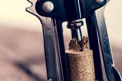 Пробочка и corkscrewer Стоковые Изображения RF