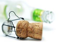 Пробочка от бутылки шампанского Стоковые Изображения