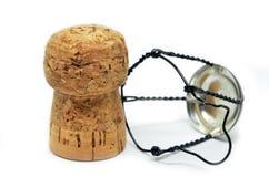 Пробочка от бутылки шампанского Стоковая Фотография RF