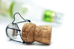 Пробочка от бутылки шампанского Стоковое Фото