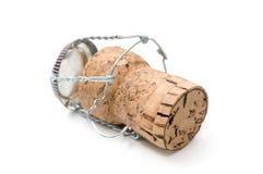 пробочка шампанского Стоковое фото RF
