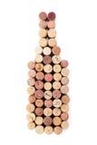 Пробочки бутылки вина форменные Стоковая Фотография
