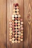 Пробочки бутылки вина форменные Стоковые Изображения RF
