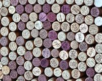 Пробочки бутылки вина Стоковые Изображения RF