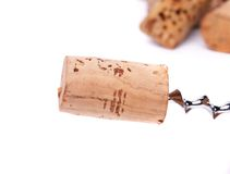 Пробочки и cokcrew вина стоковые изображения