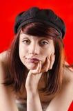 пробуренная девушка Стоковое фото RF