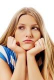Пробуренная девушка подростка Стоковые Фото