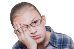 пробуренная девушка подростковая Стоковое фото RF