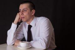 пробуренный бизнесмен Стоковое фото RF