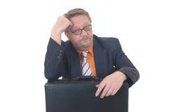 пробуренный бизнесмен Стоковая Фотография