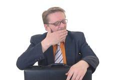 пробуренный бизнесмен Стоковое Изображение