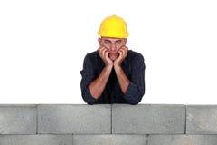 Пробуренный каменщик стоковое изображение rf