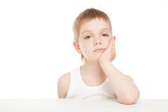 пробуренный мальчик Стоковая Фотография RF