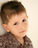 пробуренный daydreaming ребенка унылый Стоковые Фотографии RF