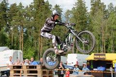 Пробы мотоцикла Timo Myohanen Стоковое Изображение RF
