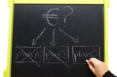 Проблема евро-зоны Стоковая Фотография